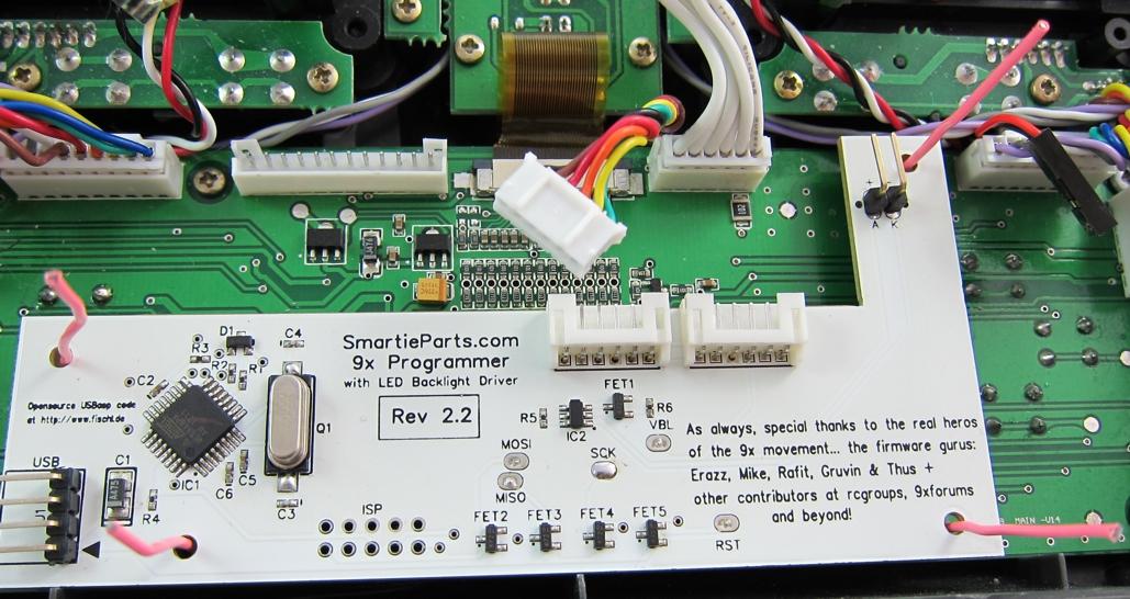 Installation Instructions: 9x Programmer Board [Rev 2 2 -2 3