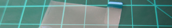 9Xtreme LCD screen film removal thumbnail.  Click for full picture.